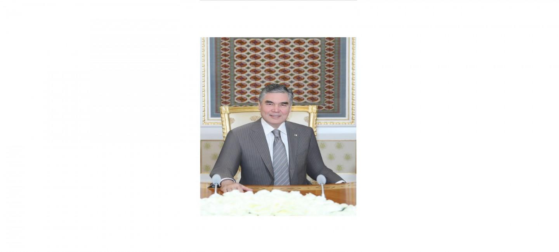 THE PRESIDENT OF TURKMENISTAN CONGRATULATES COMPATRIOTS ON EID AL FITR