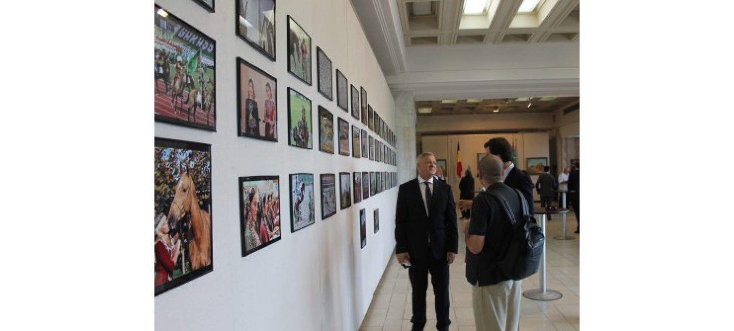 THE EXHIBITION OF TURKMEN ART AND CULTURE OPENED IN THE PARLIAMENT OF ROMANIA