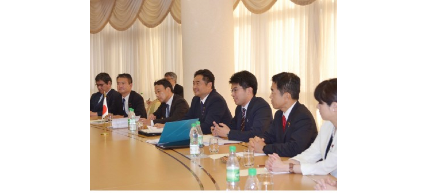 MEETING WITH THE JAPANESE DELEGATION TOOK PLACE AT THE MFA OF TURKMENISTAN