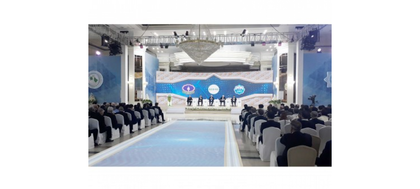 A BRIEFING WAS HELD ON THE OPENING OF A PLANT FOR THE PRODUCTION OF GASOLINE FROM NATURAL GAS IN AHAL