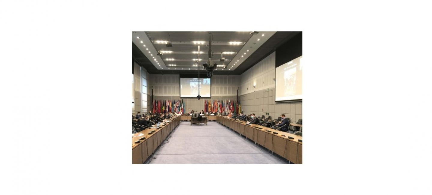 THE DELEGATION OF TURKMENISTAN TO THE OSCE MADE A STATEMENT ON THE OCCASION OF THE 25TH ANNIVERSARY OF THE NEUTRALITY OF TURKMENISTAN AT A REGULAR MEETING OF THE SECURITY COMMITTEE
