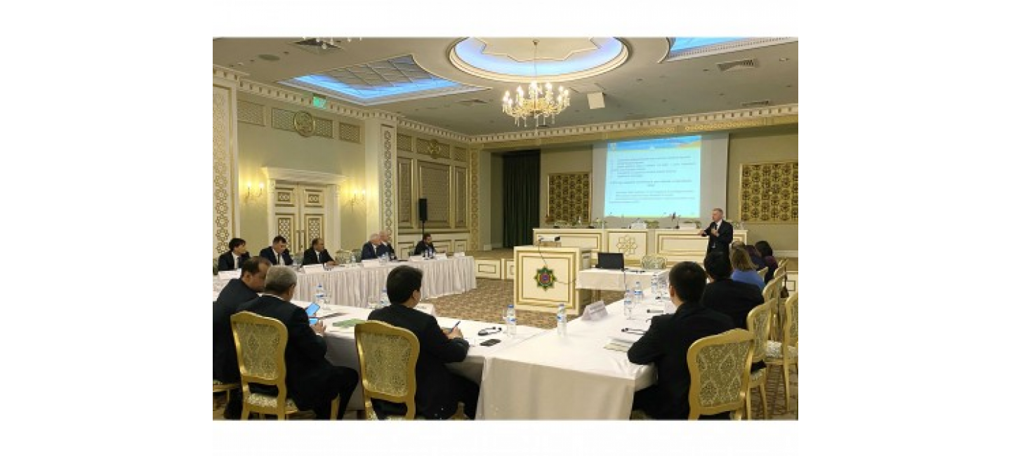 WORKSHOP ON ENSURING SECURITY OF REGIONAL INFRASTRUCTURES HAS STARTED IN MARY